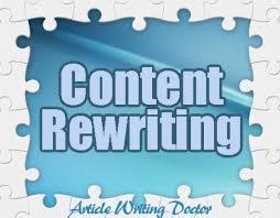 Content Re-write